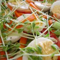 Coma ensaladas para estar saludable